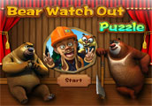 Bears Watch Out Puzzle