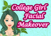 College Girl Facial Makeover