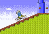 Smurf BMX Bike